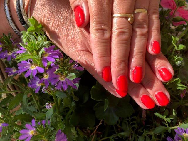 Gellack op natuurijke nagels